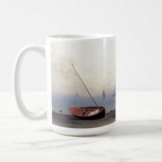 Caneca da praia do barco de Standed do veleiro de