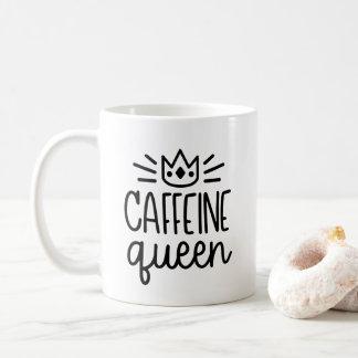 Caneca da rainha 11oz da cafeína