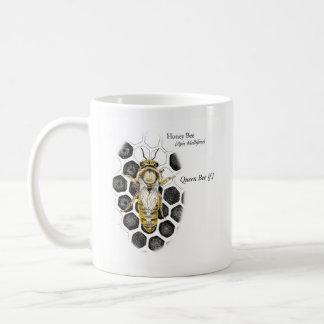 Caneca da rainha da abelha do mel de MABA