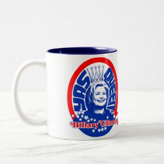 Caneca da rainha de Hillary Clinton Yas