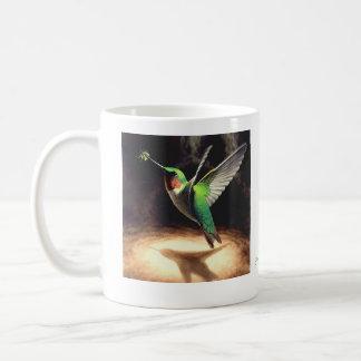 Caneca da reflexão do colibri