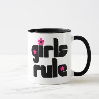 Caneca da regra das meninas