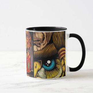 Caneca da ruptura do café