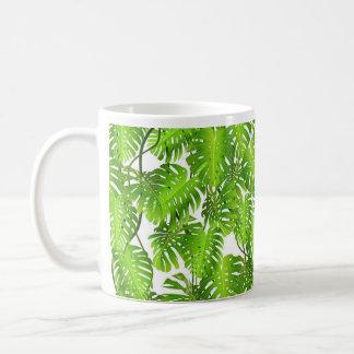 Caneca da selva, folha de palmeira