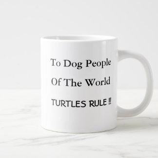 Caneca da tartaruga & do cão