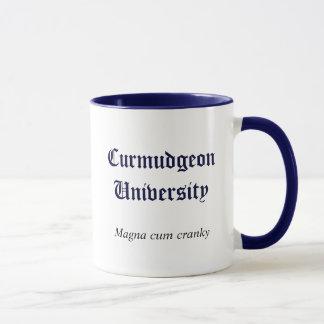 Caneca da universidade do Curmudgeon