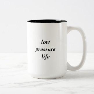 Caneca da vida da baixa pressão