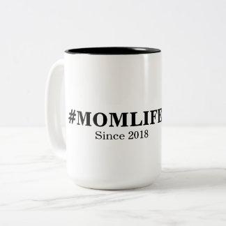 Caneca da vida da mamã de Hashtag