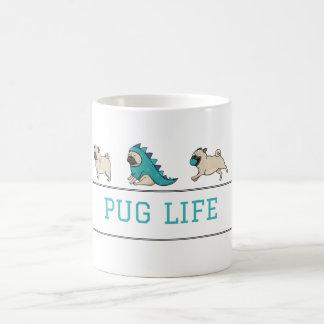 Caneca da vida do Pug