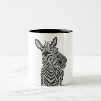 Caneca da zebra