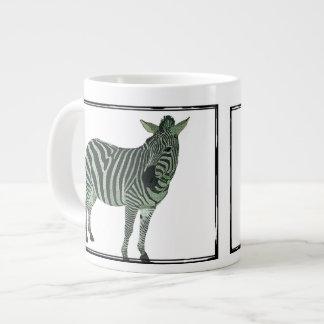 Caneca da zebra caneca de café muito grande