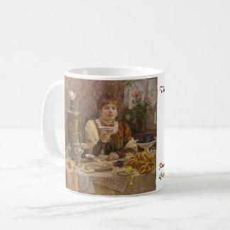 """Caneca """"Dama """" do chá do russo de Gustavus"""