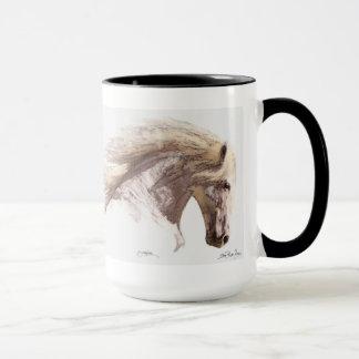 Caneca das belas artes do garanhão de Pegasus do