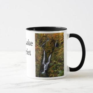 Caneca das cachoeiras do distrito do lago