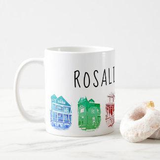 Caneca das casas de campo de Rosáalia