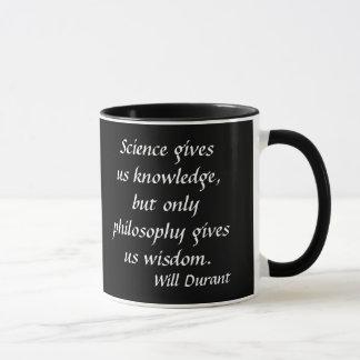 Caneca das citações de Durant*