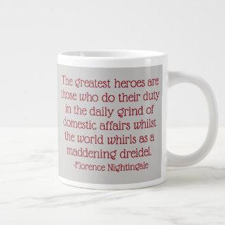 Caneca das citações de Florence Nightingale, os