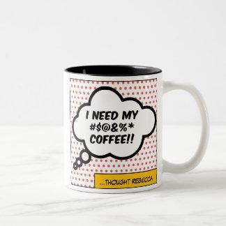 Caneca das citações do café