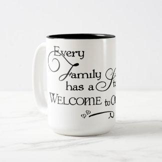 Caneca das histórias da família