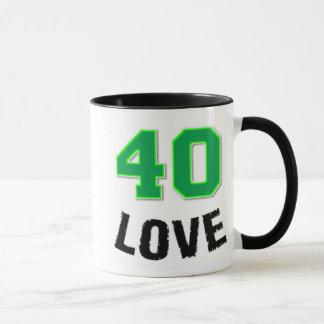 caneca de 40 amores