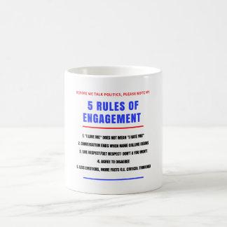 Caneca de 5 regras