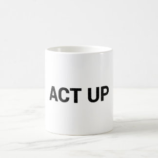 Caneca de Act Up
