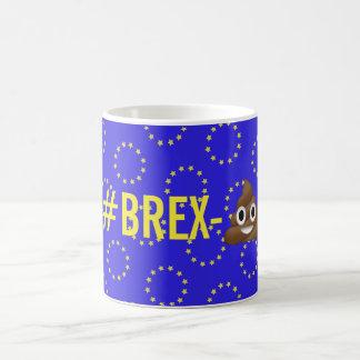 "caneca de Brexit do ""#Brex-💩"""