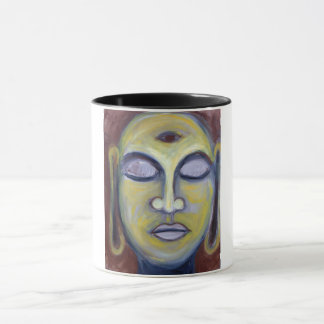 caneca de buddha