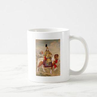 Caneca De Café 乾隆帝 do imperador do Qianlong de China na armadura