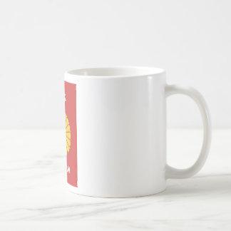 Caneca De Café - 日本 - suporte japonês japão do passaporte do 日本人,