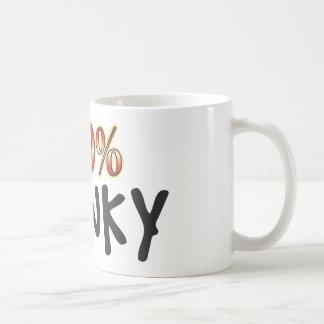 Caneca De Café 100 por cento Wonky
