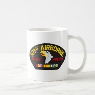 Caneca De Café 101st Veterano transportado por via aérea de