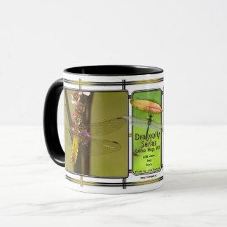 Caneca de café #13 da série da libélula