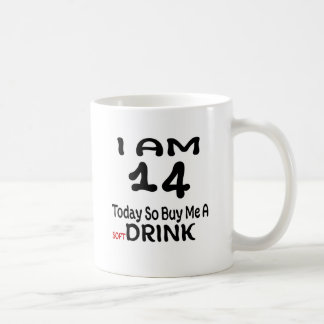 Caneca De Café 14 hoje compre-me assim uma bebida