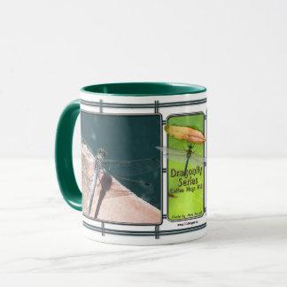 Caneca de café #16 da série da libélula
