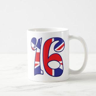 Caneca De Café 16 idade Reino Unido