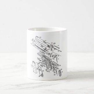 Caneca De Café 1911 porções