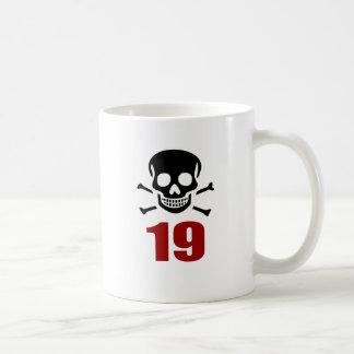 Caneca De Café 19 designs do aniversário