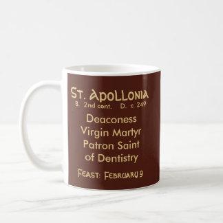 Caneca de café #1.1b do St. Apollonia (VVP 001)