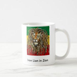 Caneca De Café 1, leão do ferro em Zion