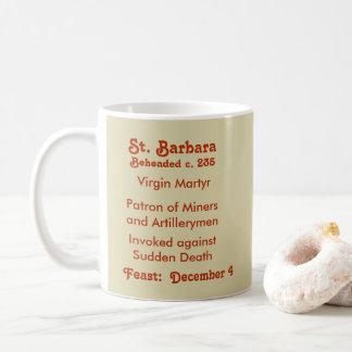 Caneca de café #1c do St. Barbara (BK 001)