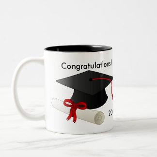 Caneca de café 2017 da graduação