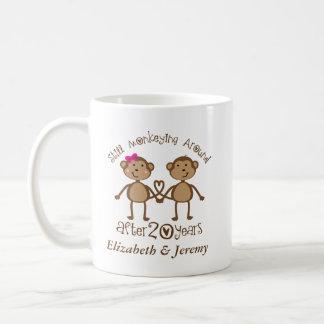 Caneca De Café 20o aniversário de casamento engraçado seu que
