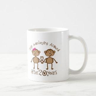 Caneca De Café 20o Presentes do aniversário de casamento