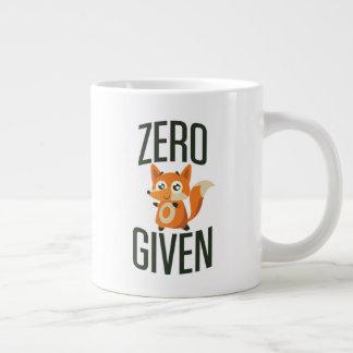 Caneca de café 20oz dada Fox zero