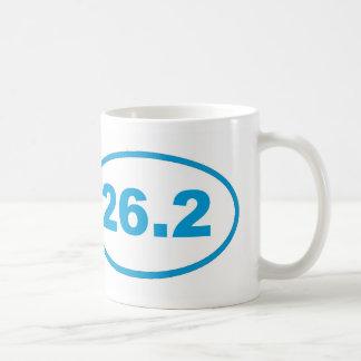 Caneca De Café 26,2 Azul ciano