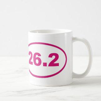 Caneca De Café 26,2 Magenta cor-de-rosa
