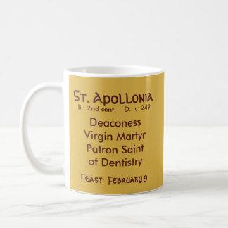 Caneca de café #2.1b do St. Apollonia (VVP 001)