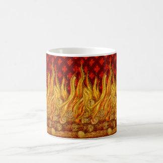 Caneca de café #2.4 das chamas do St. Apollonia