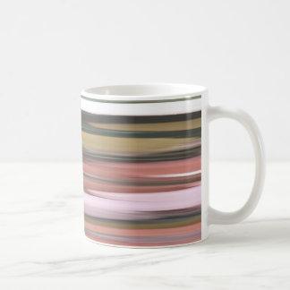 Caneca De Café #2 abstrato: Borrão das cores da queda do outono